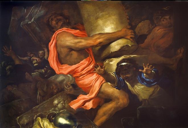 Risultati immagini per muoia Sansone con tutti i filistei,