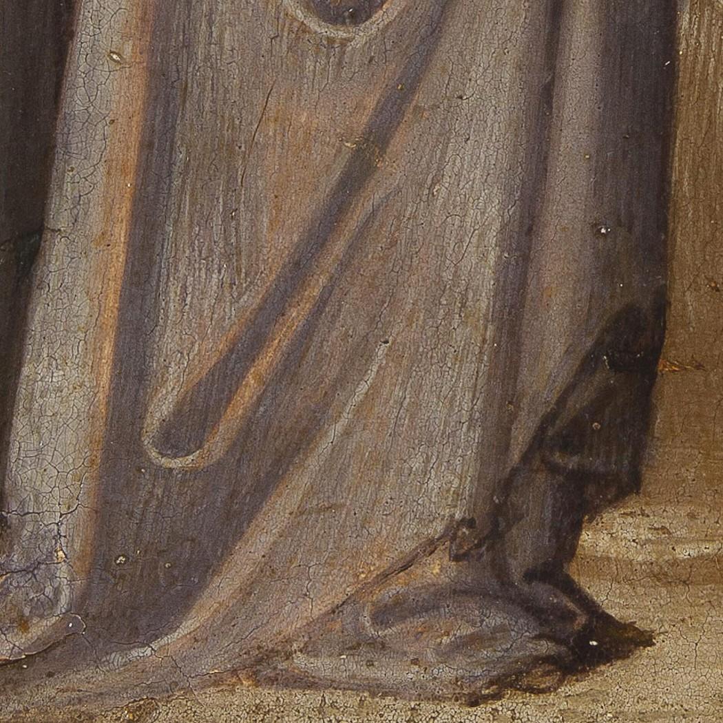 Bicci Di Lorenzo Miracle of St  Giovanni Gualberto - Salamon Gallery